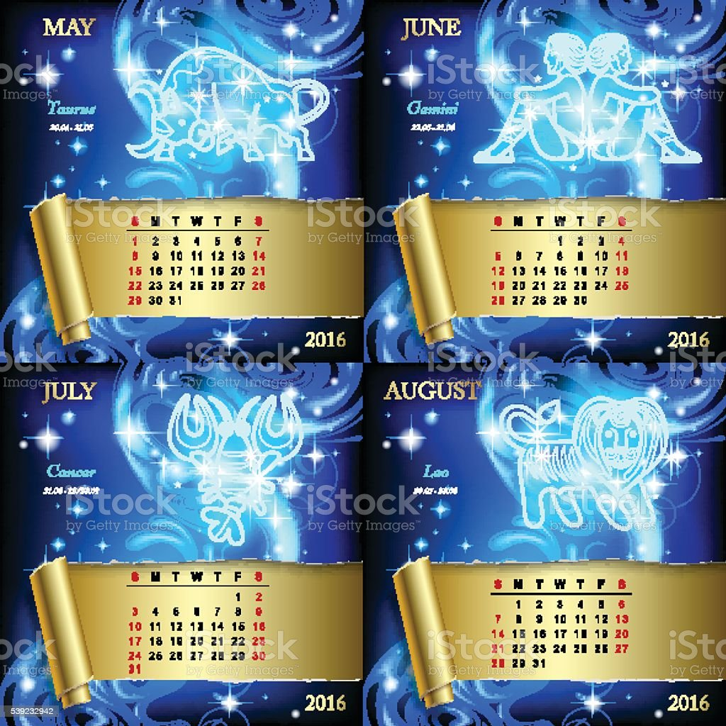 Zodiac Calendar pages royalty-free zodiac calendar pages stock vector art & more images of astrology