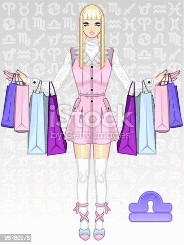 Zodiac Girl - Libra