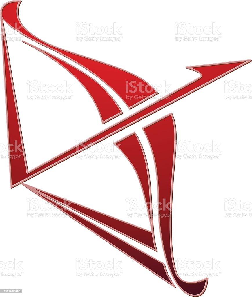 Zodiac red Schütze Lizenzfreies zodiac red schütze stock vektor art und mehr bilder von astronomie