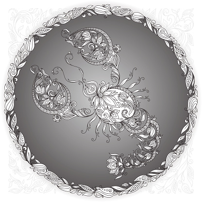 Zodiac sign Cancer.