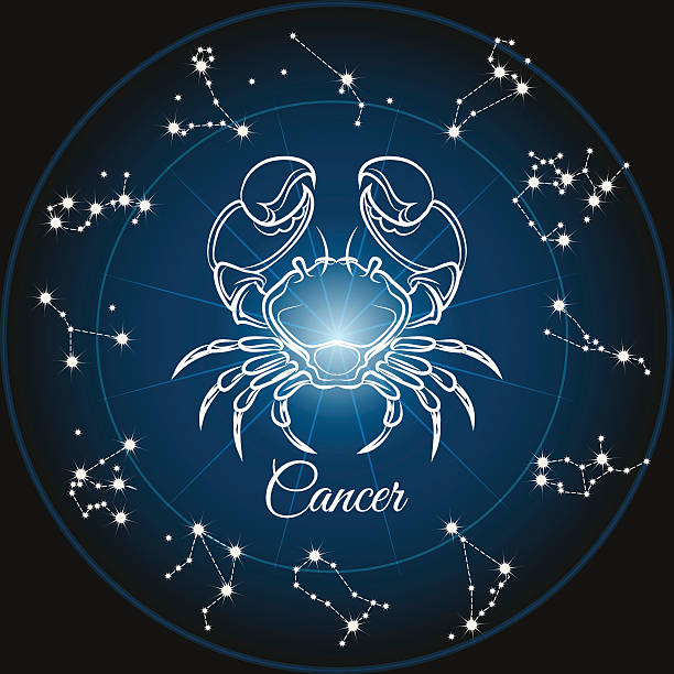 bab967b57 Top 60 Cancer Astrology Sign Clip Art, Vector Graphics and ...