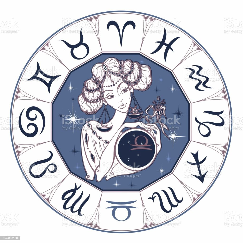 Zodiac Sign Libra As A Beautiful Girl Horoscope Astrology Victor