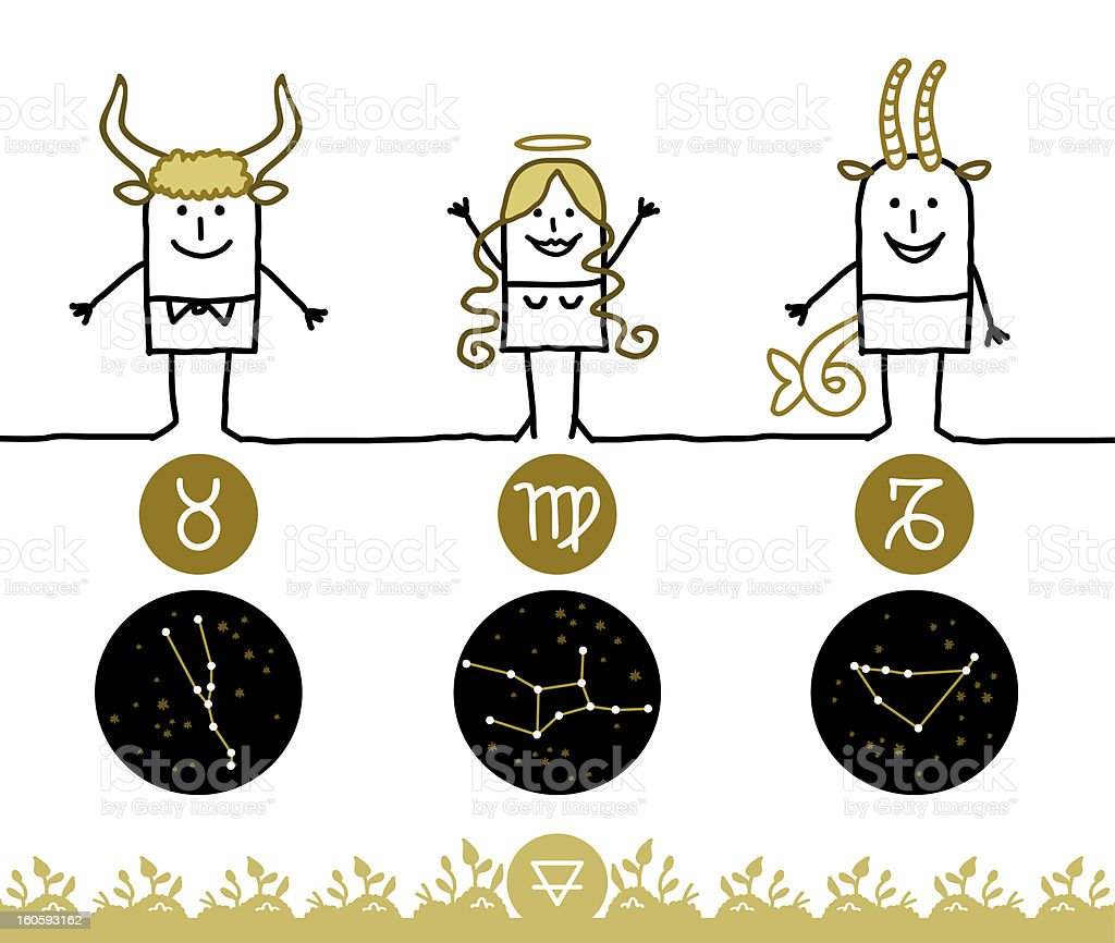 Знаки зодиака стихия земля картинки