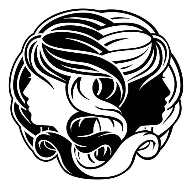 Gemini Clip Art - Royalty Free - GoGraph