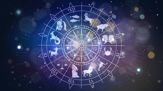Zodiac signs in space