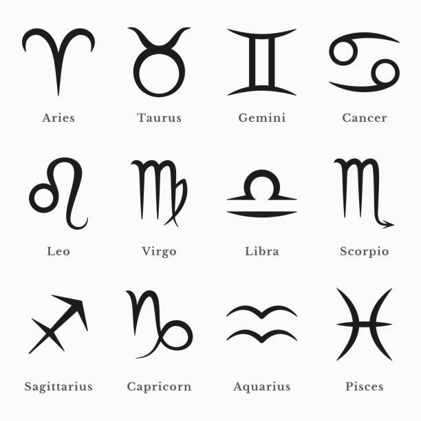 illustrations, cliparts, dessins animés et icônes de symboles du zodiaque - pisces zodiac