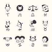 zodiacal icons