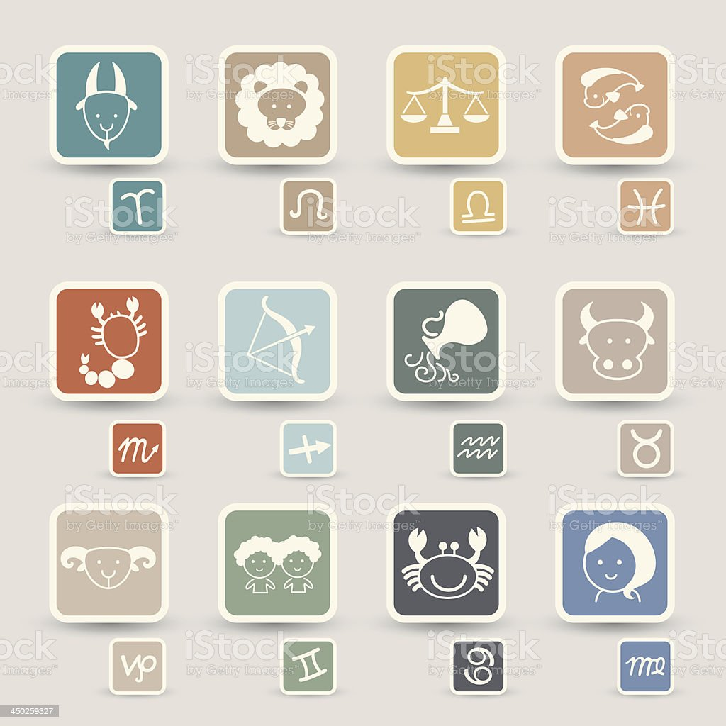 zodiacal icons royalty-free zodiacal icons stock vector art & more images of adult