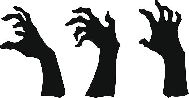 Royalty Free Zombie Hand Clip Art, Vector Images ...