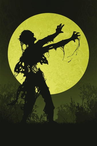 Zombie in the Marsh