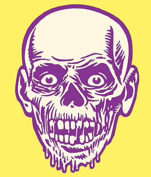 bildbanksillustrationer, clip art samt tecknat material och ikoner med zombie - zombie