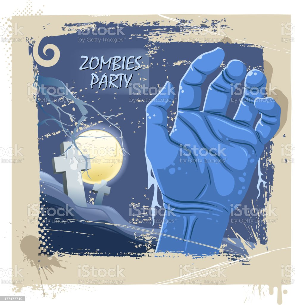 zombies party royalty-free zombies party stock vector art & more images of arts culture and entertainment