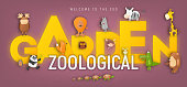 Zoo Animals in Zoological Garden Ad