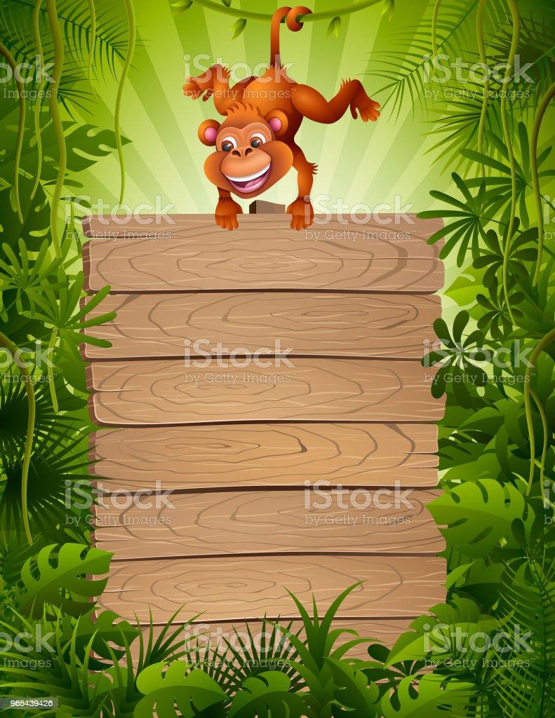 Zoo Monkey royalty-free zoo monkey stock vector art & more images of amazon rainforest