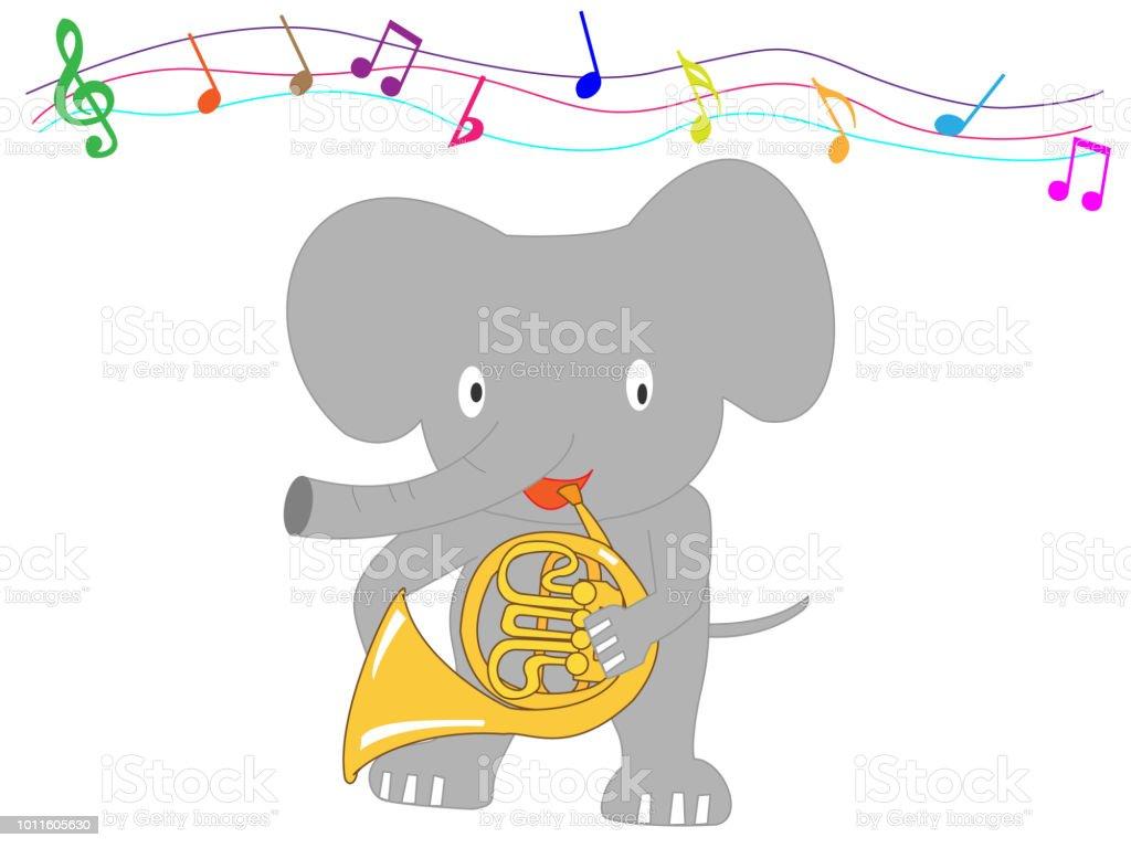 zoo music - Grafika wektorowa royalty-free (Budynek przedszkola)