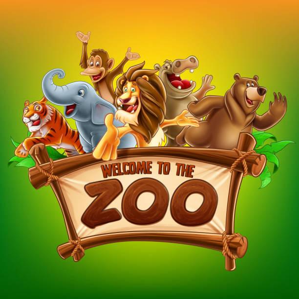 動物園 - 動物園点のイラスト素材/クリップアート素材/マンガ素材/アイコン素材