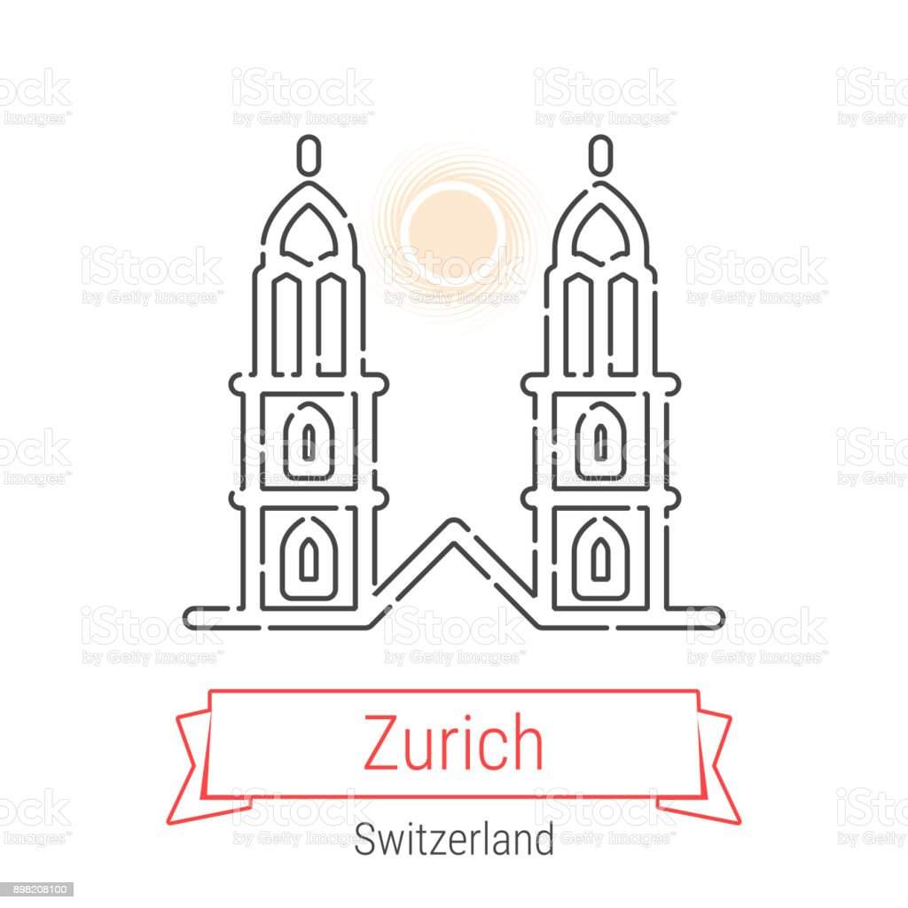 Zurich switzerland vector line icon stock vector art more images zurich switzerland vector line icon royalty free zurich switzerland vector line icon stock vector gumiabroncs Gallery