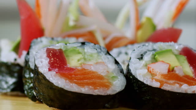 SUSHI ROLL-TROPICAL-1080HD video