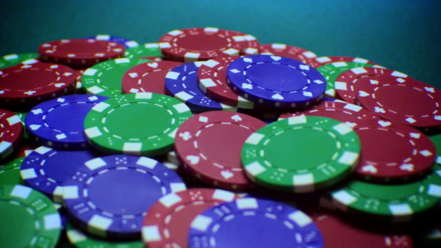 POKER CHIPS-4 SHOTS-1080HD video