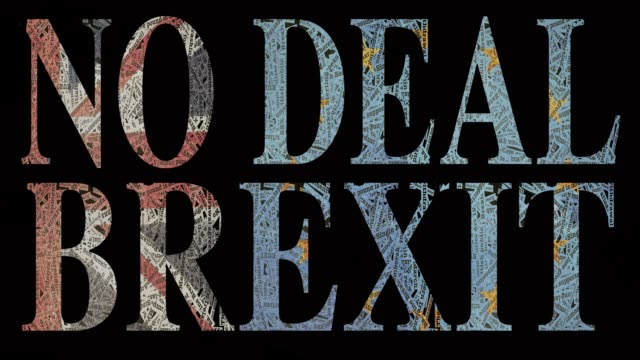 BREXIT NO DEAL BREXIT  stop motion goodbye single word stock videos & royalty-free footage
