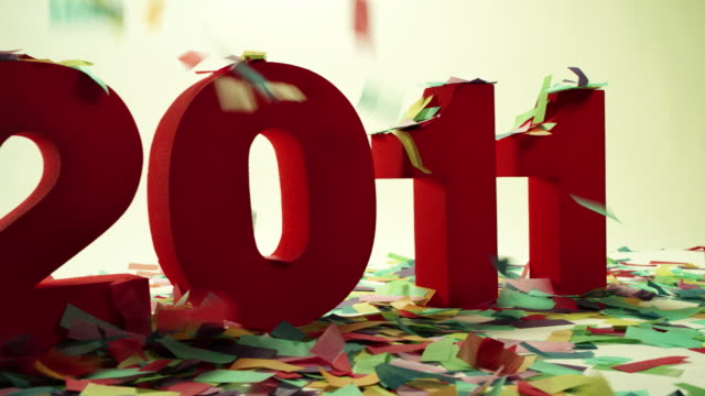 HAPPY NEW YEAR-2011-HD  less than 10 seconds stock videos & royalty-free footage