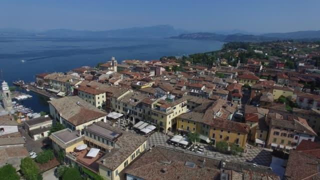 ラツィーゼ (vr) ガルダ湖イタリア - チロル州点の映像素材/bロール