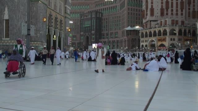 makkah, saudi arabia - arabia saudita video stock e b–roll