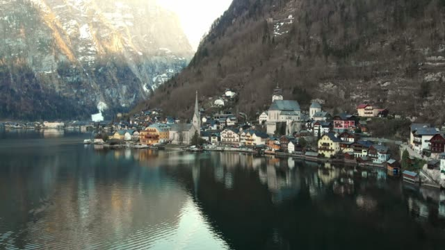 HALLSTATT VILLAGE - SITUATED BY THE SHORE OF HALLSTATTER SEE LAKE