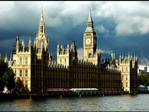 LONDON, BIG BEN & HOUSE OF COMMONS - SD2B video