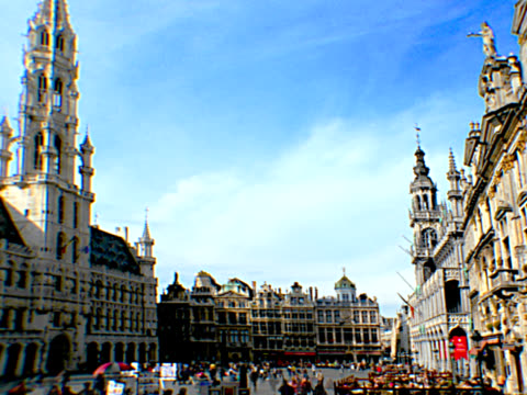 BRUSSELS - GRAND PLACE 1, PAL video