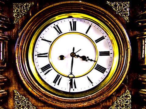 clock in fast forward 1 - pal - 10 saniyeden daha kısa stok videoları ve detay görüntü çekimi