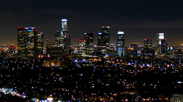 LOS ANGELES SKYLINE 7 video