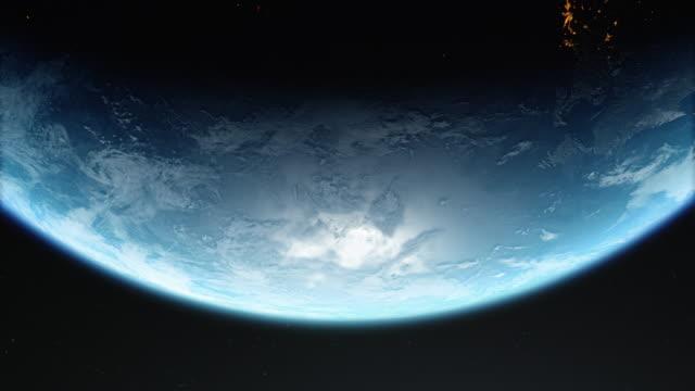 planet erde 4k - weltraum und astronomie stock-videos und b-roll-filmmaterial