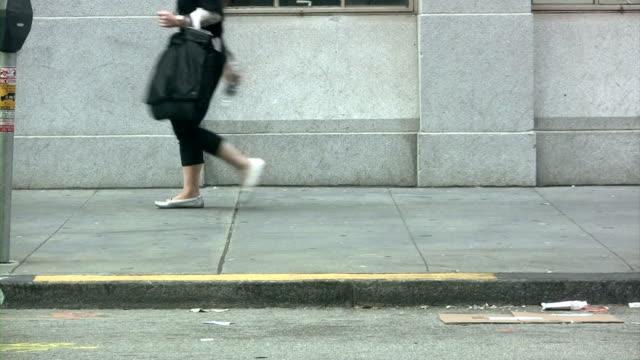 WALKING TRAFFIC  (HD/DV) video
