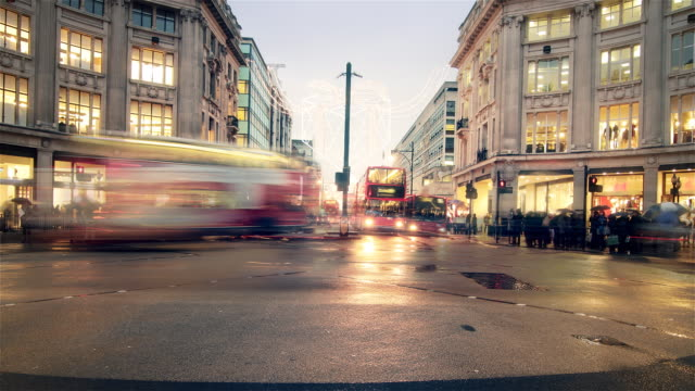 OXFORD STREET LONDON TIMELAPSE video