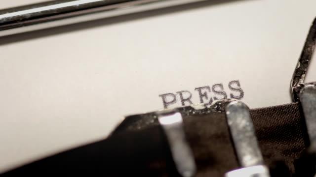 PRESS RELEASE video
