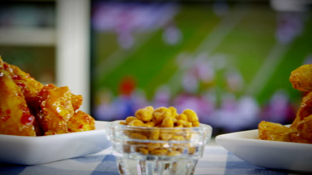 BUFFALO CHICKEN WINGS AND FOOTBALL video