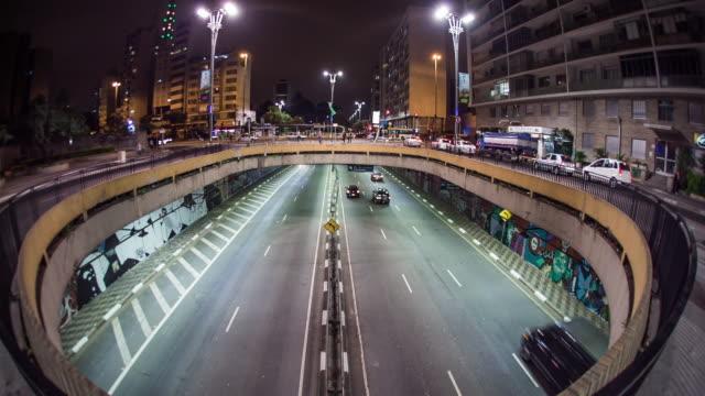paulista avenue - проспект стоковые видео и кадры b-roll