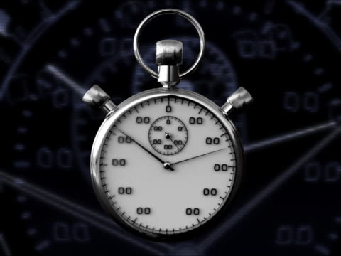 CLOCK STOP WATCH 3D RENDER WITH GRAPHICS video