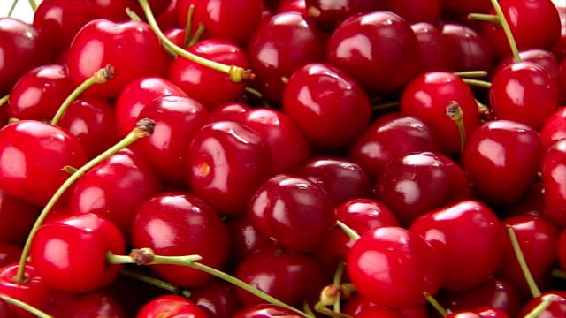 CHERRIES CHERRIES IN ROTATION cherry stock videos & royalty-free footage