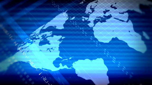 BLUE MAP video