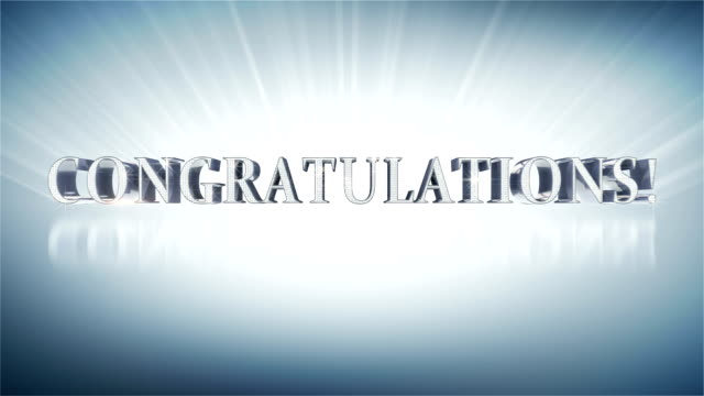 CONGRATULATIONS! video