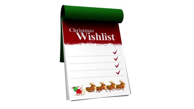 vídeos y material grabado en eventos de stock de navidad wishlist - deseo