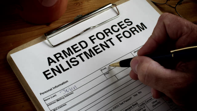 ARMED FORCES FORM-ENLIST-1080HD video