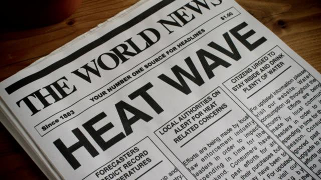 vidéos et rushes de journal-titre-heat wave 1080hd - canicule