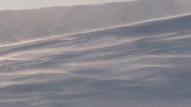drifting 雪 - シベリア点の映像素材/bロール