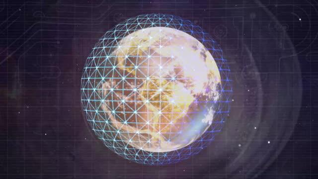 DIGITAL IRIS INTO WORLD ANIMATION video