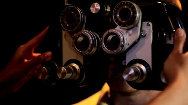 vidéos et rushes de examen ophtalmologique - examen ophtalmologique
