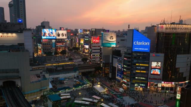 TOKYO SHIBUYA SONNENUNTERGANG TIMELAPSE – Video