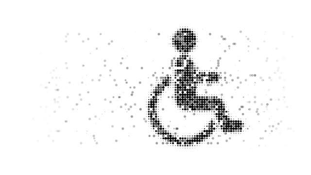 vídeos de stock, filmes e b-roll de cadeira de rodas: (arco - geriatria